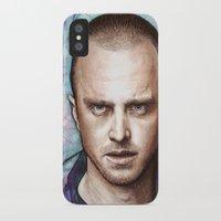 jesse pinkman iPhone & iPod Cases featuring Jesse Pinkman by Olechka