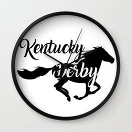 Kentucky Derby the best Running horse Wall Clock