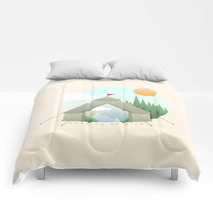 Born to be wild Comforters