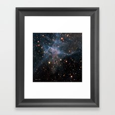 Mystic Mountain Nebula Framed Art Print