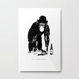 Monkey Madness Metal Print