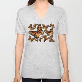 Monarch Butterflies | Monarch Butterfly | Vintage Butterflies | Butterfly Patterns | Unisex V-Neck