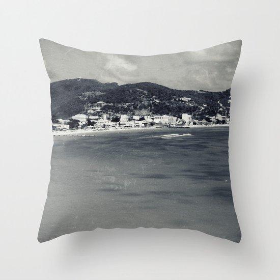 Old-New St. Maarten Throw Pillow
