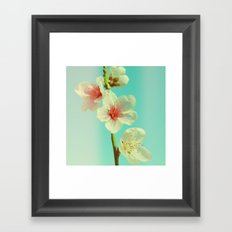 This looks like spring! Framed Art Print