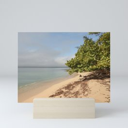 Playa Larga Beach Landscape Cuba Trees Seascape Snorkel Swimming Scuba Tropical Paradise Latin Ameri Mini Art Print