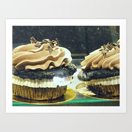 Chocolate Cupcakes! ~ sweets ~ food Art Print