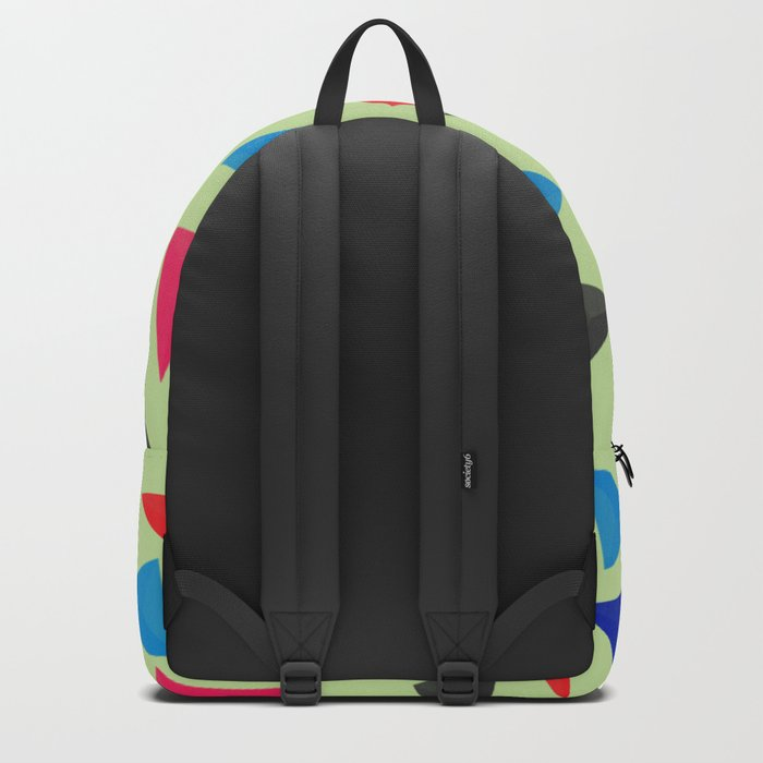 Colorful geometric pattern VIII Backpack