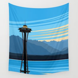 Blue Pearl Wall Tapestry