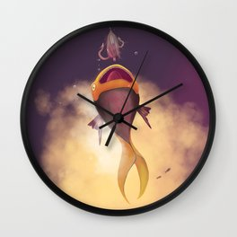 DYLAN & THE GIRL Wall Clock