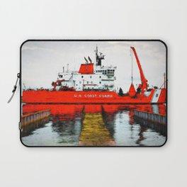 Coast Guard Cutter Mackinaw Laptop Sleeve