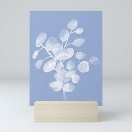 Abstract Eucalyptus Silver Dollar Mini Art Print