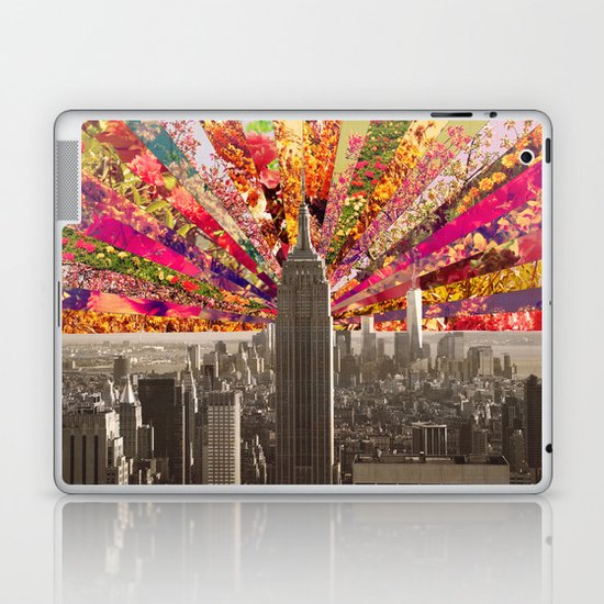 BLOOMING NY Laptop & iPad Skin