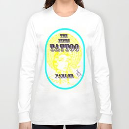 Steph Darling Design at The Nines Tattoo Parlor Long Sleeve T-shirt