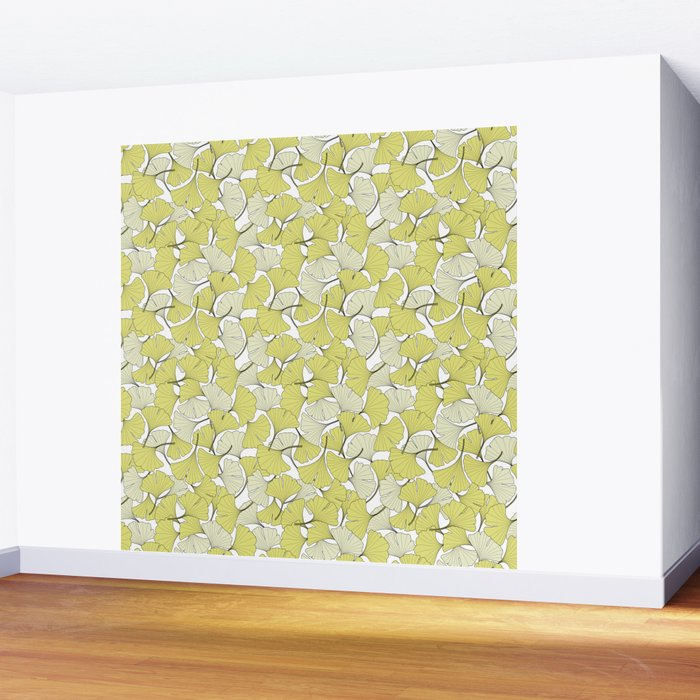 ginkgo leaves (special edition) Wall Mural