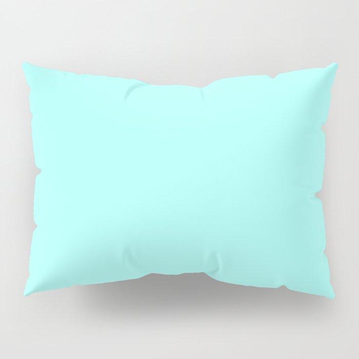 Pastel Colors: Aquamarine Pillow Sham