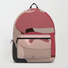 up close lips Backpack