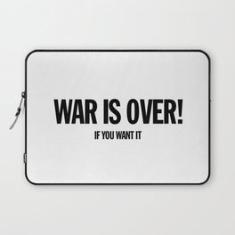 War Is Over - If You Want It -  John Lenon & Yoko Ono Poster Laptop Sleeve