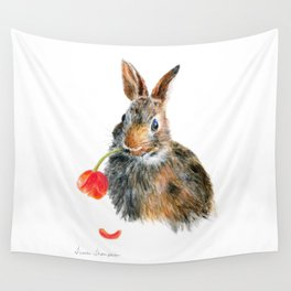 """""""Trouble"""" by Teresa Thompson Wall Tapestry"""