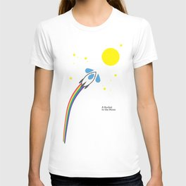A Rocket to the Moon T-shirt