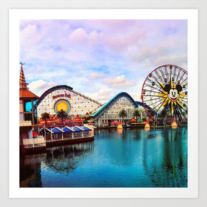 Paradise Pier at California Adventure Kunstdrucke