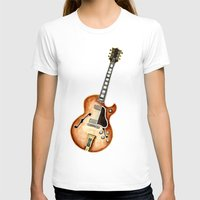 guitar T-shirts featuring Guitar by Bridget Davidson