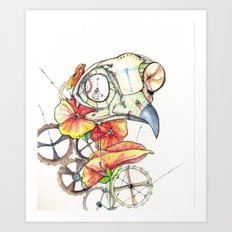 Time Keeper Art Print
