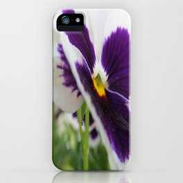 morning purple iPhone Case