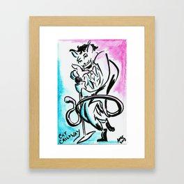 Cat Calloway Framed Art Print