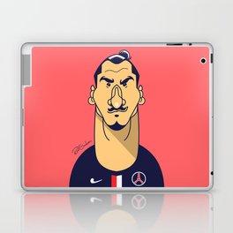 Zlatan portrait Laptop & iPad Skin