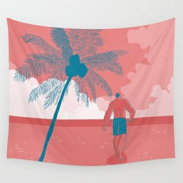 what a beautiful day Wall Tapestry