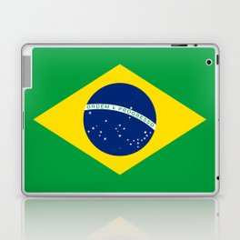 Flag of Brazil - Hi Quality Authentic version Laptop & iPad Skin