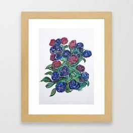 Worth Two Bird In A Bush Framed Art Print