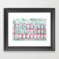 WALL PAPER II Framed Art Print