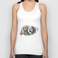 blade runner Tank Tops featuring Sketchbook by Sandra Ink