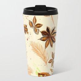 World of spices. Vector design Travel Mug