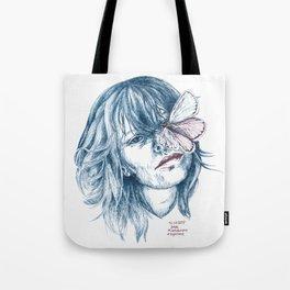 Augen-Schmetterling Tote Bag