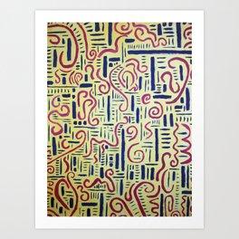 Male & Female Art Print