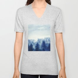 Into The Forest II Unisex V-Neck