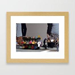 New York, my love Framed Art Print