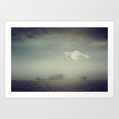in my other world Art Print