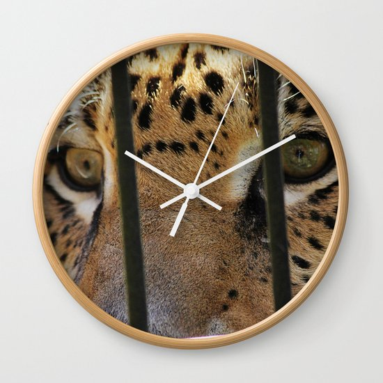 Hungry Eyes Wall Clock