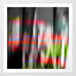 veiled colors Art Print