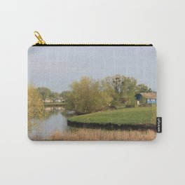 Spring in a village Carry-All Pouch
