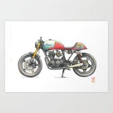 Honda Art Print