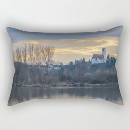 Looking towards St.Martin Church Rectangular Pillow