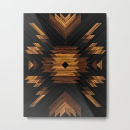 Urban Tribal Pattern 7 - Aztec - Wood Metal Print