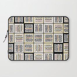 Small line segments Laptop Sleeve