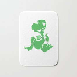 I Have a Drinking Problem Dinosaurs Dino Alcohol Beer Design Bath Mat