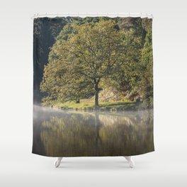 Misty Mallards Pike - 1 Shower Curtain