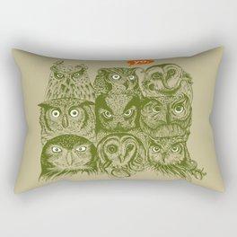 Wisdom to the Nines Rectangular Pillow